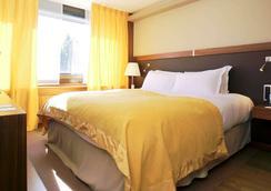索菲特里昂貝勒庫爾酒店 - 里昂 - 里昂 - 臥室
