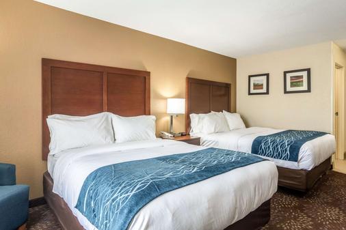 Comfort Inn & Suites - Hannibal - Bedroom