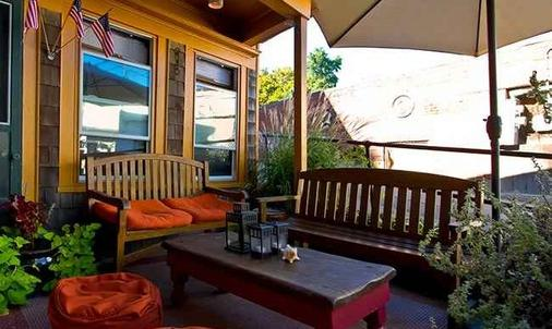 Crew's Quarters - Only All Male Guesthouse - Provincetown - Patio