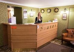 Stasov Hotel - Saint Petersburg - Front desk