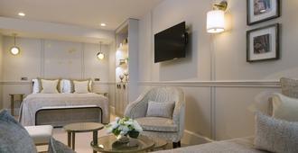 Hotel Le Narcisse Blanc & Spa - Parigi - Camera da letto