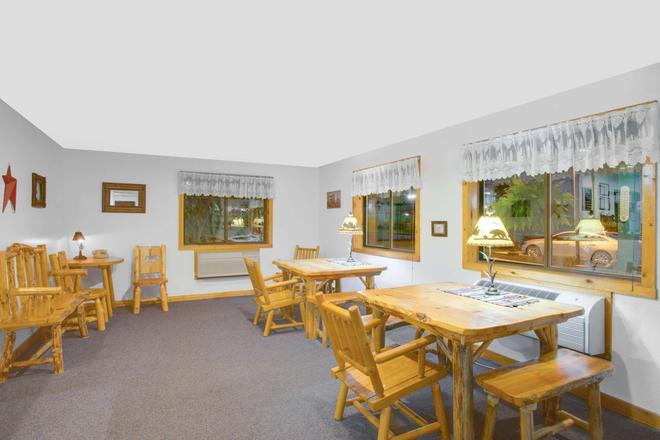 沃倫地區喬治河速 8 酒店 - 萊克喬治 - 喬治湖 - 餐廳