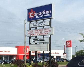 Canadian Motor Hotel - Sault Ste Marie - Byggnad