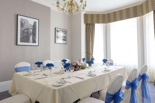 Best Western Plus The Connaught Hotel - Bournemouth - Banquet hall