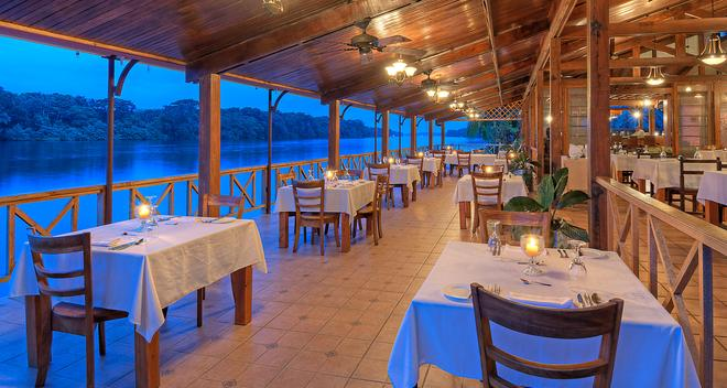 Tortuga Lodge and Gardens - Tortuguero - Restaurante