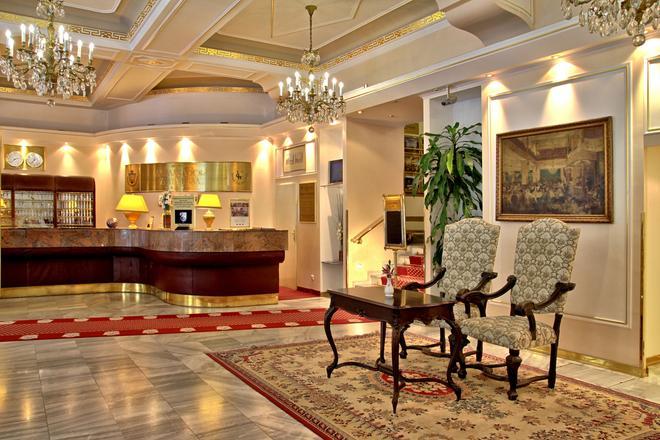 Top Hotel Ambassador-Zlata Husa - Prague - Front desk