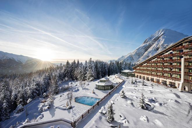 Interalpen-hotel Tyrol Gmbh - Telfs - Building