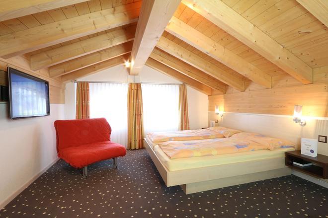 Apparthotel Feehof Saas-Fee - Saas-Fee - Bedroom