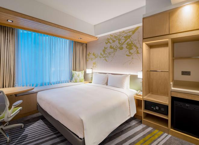 Hilton Garden Inn Singapore Serangoon - Сингапур - Спальня