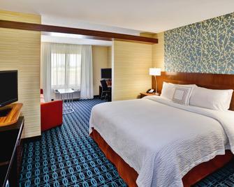 Fairfield Inn & Suites Jeffersonville I-71 - Jeffersonville - Bedroom