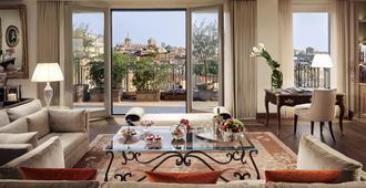 Palazzo Parigi Hotel & Grand Spa Milan - Mailand - Wohnzimmer
