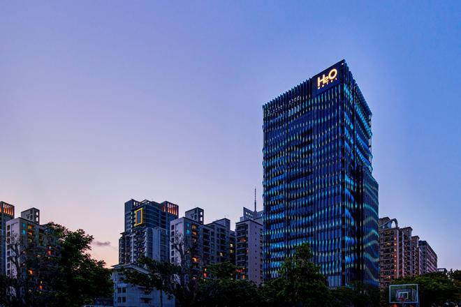 H2O Hotel - Kaohsiung - Building