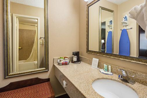 Quality Inn and Suites Greenville - Haywood Mall - Greenville - Phòng tắm