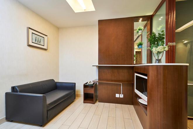 Minimal Hotel Bazaar - Hong Kong - Living room