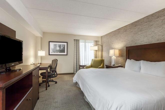 匹茲堡大學 中心(奧克蘭)假日酒店 - 匹茲堡 - 匹茲堡 - 臥室
