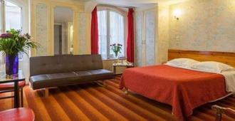 Hotel Tiquetonne - Paris - Schlafzimmer