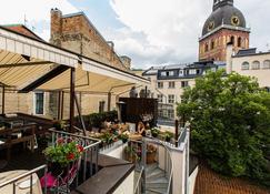 Dome Hotel - Riga - Balcony