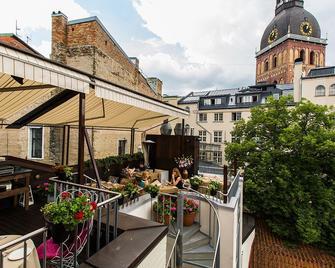 Dome Hotel - Riga - Balkon