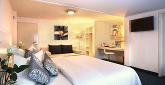 Hotel Kleefelder Hof - האנובר - חדר שינה