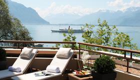 Royal Plaza Montreux & Spa - Montreux - Balcone