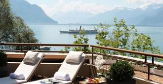 Royal Plaza Montreux - מונטרה - מרפסת
