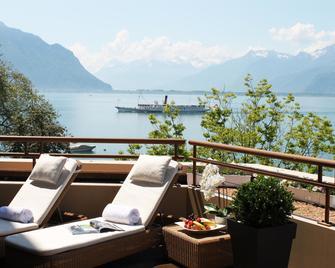 Royal Plaza Montreux - Montreux - Balkon
