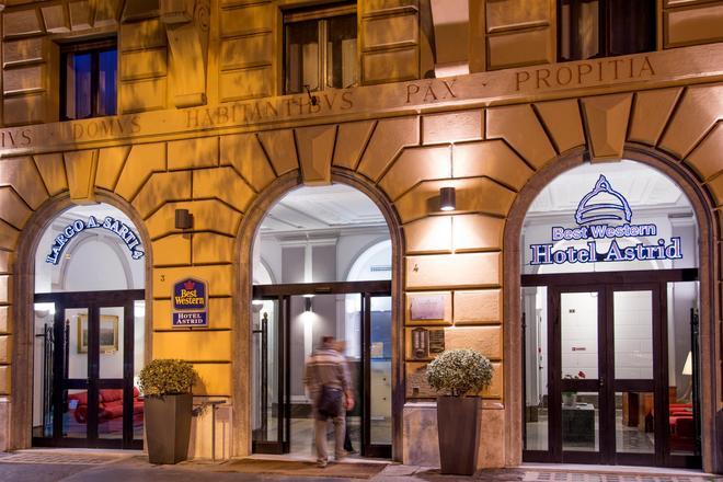 Best Western Hotel Astrid - Rome - Toà nhà