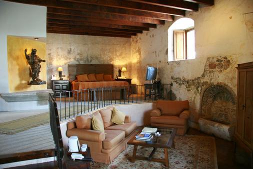 Hotel Museo Spa Casa Santo Domingo - Antigua - Olohuone