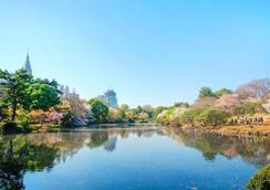 韓國館商務飯店 - 東京 - 室外景
