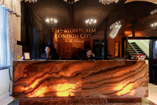 The Montcalm At Brewery London City - London - Front desk