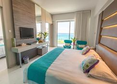 King Evelthon Beach Hotel & Resort - Pafos - Soverom