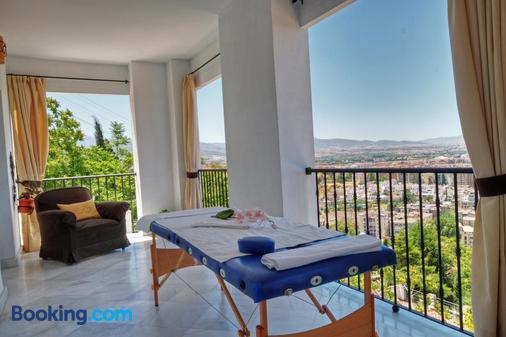 Hotel Mirador Arabeluj - Granada - Ban công