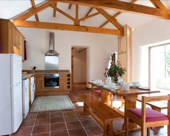 Cusgarne Cottages - Perranwell - Dining room