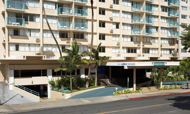 Aqua Aloha Surf Waikiki - Honolulu - Building