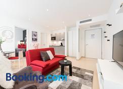 Friedrich Boutique-Apartments - Freiburg im Breisgau - Wohnzimmer