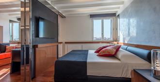 هوتل ريالتو - البندقية - غرفة نوم