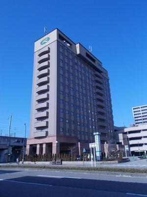 Hotel Route-Inn Kanazawa Ekimae - Kanazawa - Rakennus