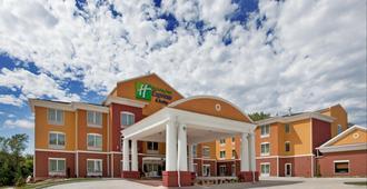 Holiday Inn Express Hotel & Stes Kansas City Sports Complex, An IHG Hotel - קנזס סיטי - בניין