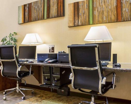 Comfort Suites - Thành phố Rapid - Khu vực làm việc