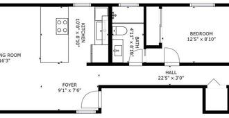 Avalon II by AvantStay | San Diego Condo w/ Vibrant Interiors - San Diego - Floorplan