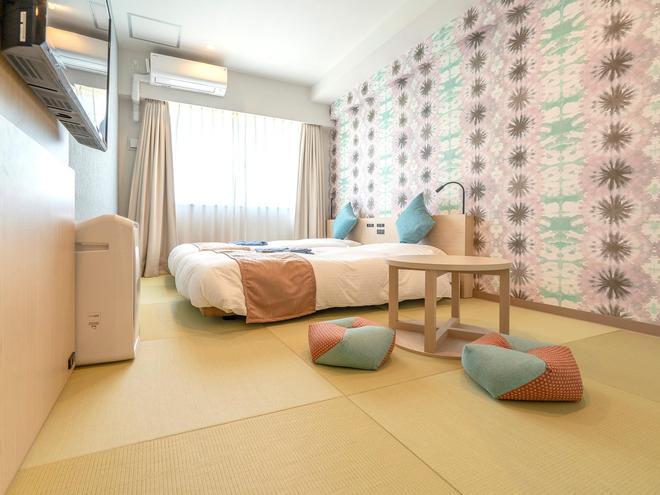 La'gent Hotel Okinawa Chatan - Chatan - Schlafzimmer