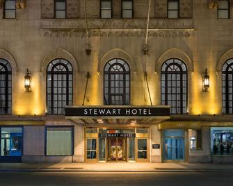 Stewart Hotel - New York - Building