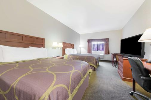 Super 8 by Wyndham Abilene South - Abilene - Bedroom
