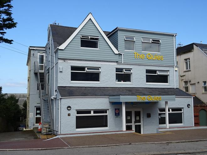 The Quies - Newquay - Building