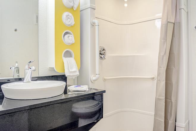 波特蘭中央 6 號汽車旅館 - 波特蘭 - 波特蘭(俄勒岡州) - 浴室