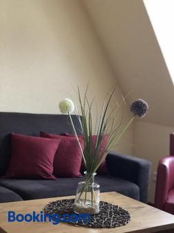 Gastehaus Eberlein - Rothenburg ob der Tauber - Living room