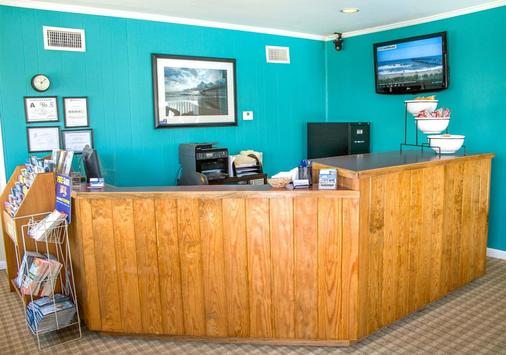Colonial Inn Motel - Nags Head - Front desk