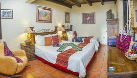 Hotel Meson del Valle - Antigua Guatemala - Schlafzimmer