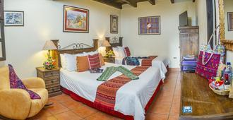Hotel Meson del Valle - אנטיגואה גוואטמלה - חדר שינה
