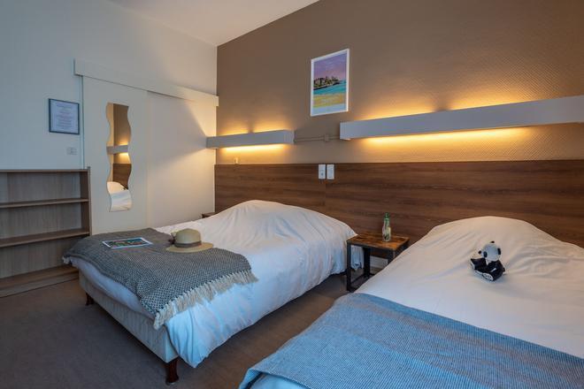 布列塔尼安娜酒店 - 瓦訥 - 瓦訥 - 臥室